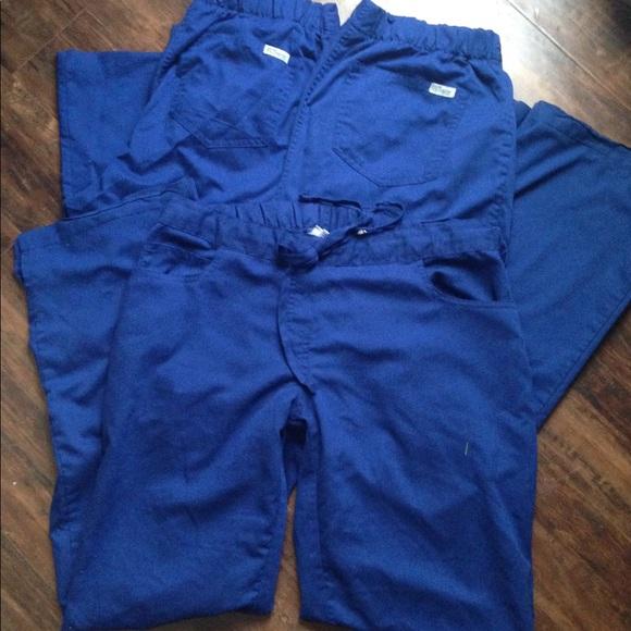 6a1ff5047a1 Grey's Anatomy Other | Greys Anatomy Scrubs Medium Pants Galaxy Blue ...